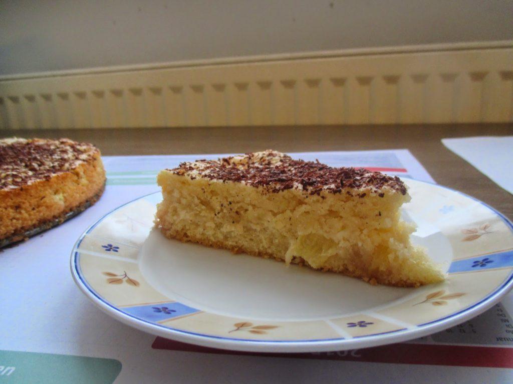 Frischer Ananas Marzipan Kuchen Glatzkoch De